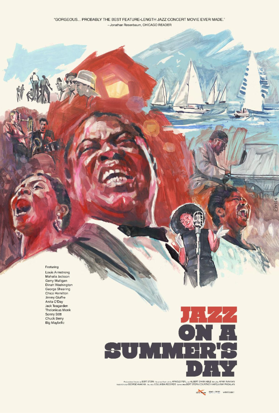 poster for re-release of Jazz on a Summer's Day