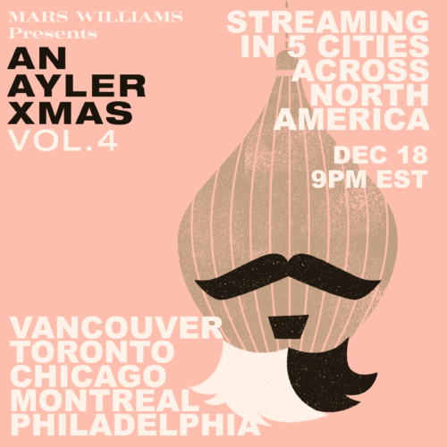 poster graphic - Mars Williams presents An Ayler Xmas Vol. 4